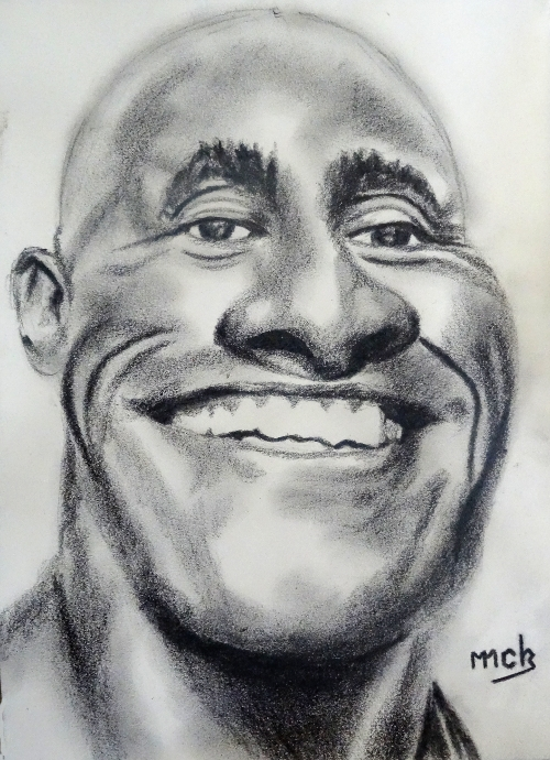 Dwayne Johnson by mick